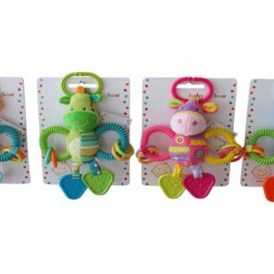 Animal Activity and Chew Toy - Baby Boo