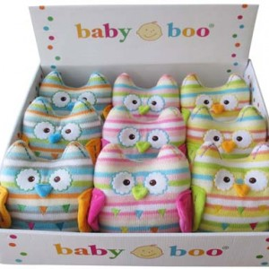 Knitted Owl - Baby Boo