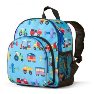 Toddler Backpack Trains Planes Trucks - Olive Kids