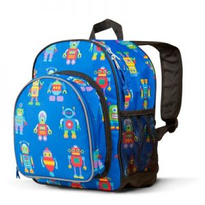 Toddler Backpack Robots - Olive Kids