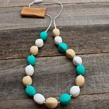 Almond and Berry Chew Necklace - Bubb Chew