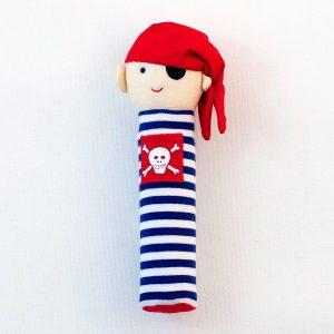 Blue Stripe Pirate - Alimrose