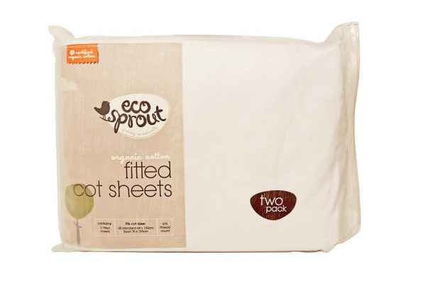 Cot Fitted Sheets 2pk - Eco Sprout