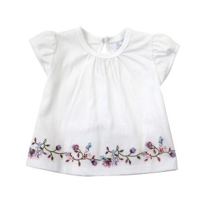 Little Girl's Embroidered Top