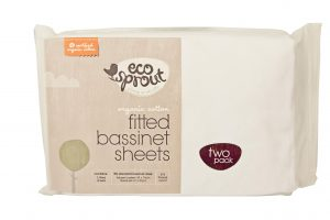Organic Fitted Bassinet Sheets - Eco Sprout