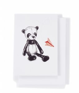 Taj The Panda Card - Nana Hutchy