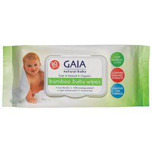 Bamboo Baby Wipes - Gaia