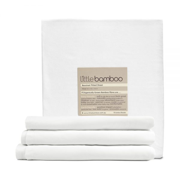 Bassinet Fitted Sheet - The Little Linen Company