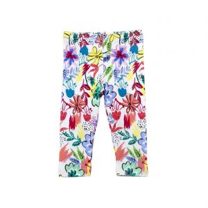 Toddler Girl's Tropical Leggings - Plum