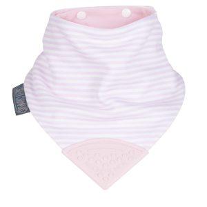 Cool Pink Neckerchew Bib - Cheeky Chompers