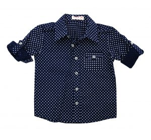 Boy's Woven Shirt - Plum