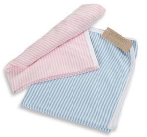 Swaddle Blanket Stripe-Pureborn Organic