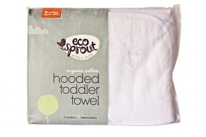 Organic Hooded Toddler Towel - Eco Sprout