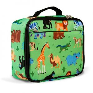 Lunch Bag Wild Animals - Olive Kids