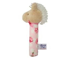 Horse Rose Hand Squeaker-Alimrose