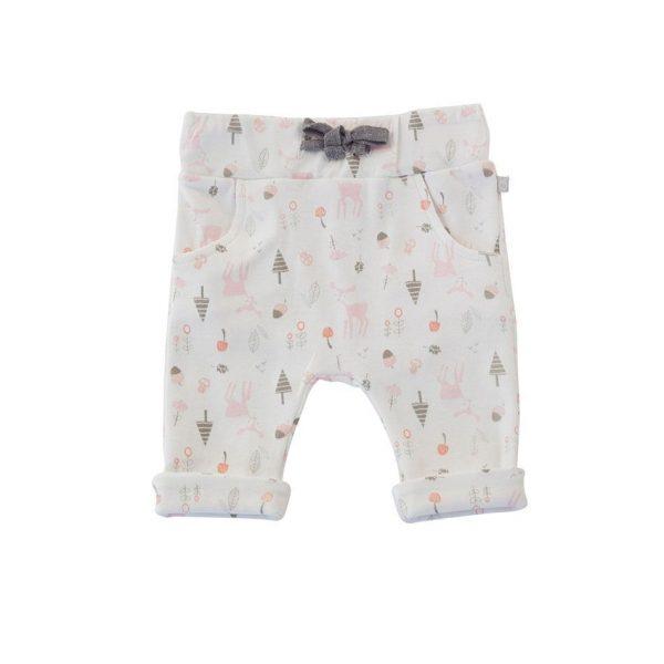 Little Pink Deer Cuffed Pants
