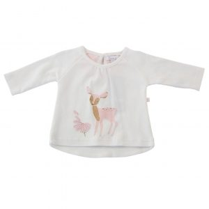 Little Pink Deer Top