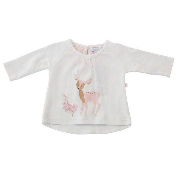 Little Pink Deer Top