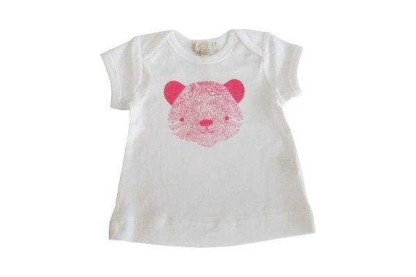 Little Pink Bear Tee - Wilson & Frenchy