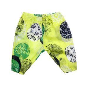 Citrus and Navy Harem Pants - Plum