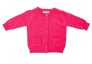 Toddler Girl's Cardigan - Plum