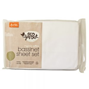 Bassinet Sheet Set - Eco Sprout