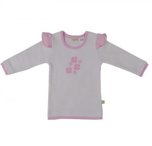 Girl's Floral Tee Pink - Tiny Twig