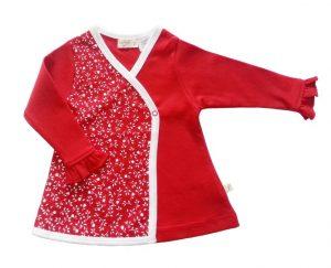 Kimono Tee Red - Tiny Twig