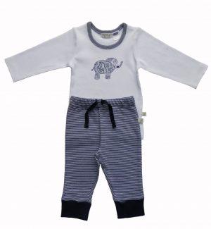 Navy 2 Piece Pyjamas - Tiny Twig