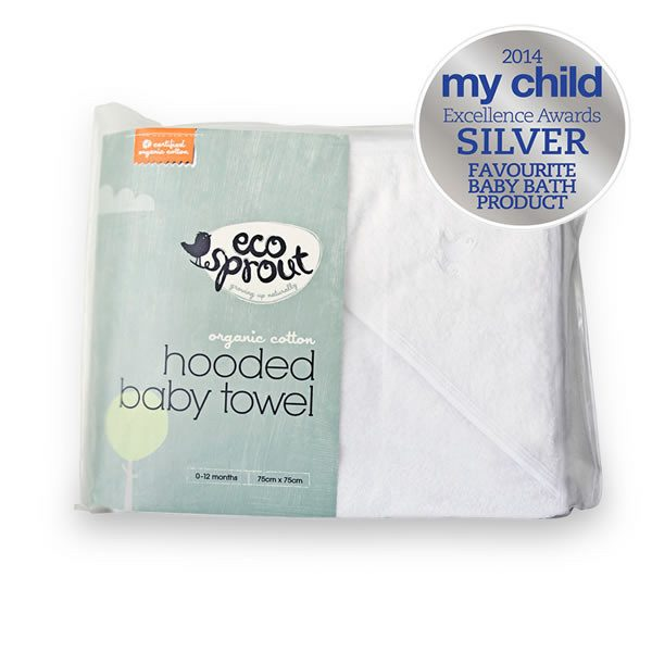 Organic Hooded Baby Towel - Eco Sprout