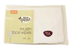 Organic Muslin Face Wipes - Eco Sprout