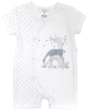 Deer Bodysuit - Plum