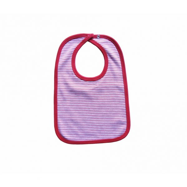 Red Stripe Bib - Tiny Twig