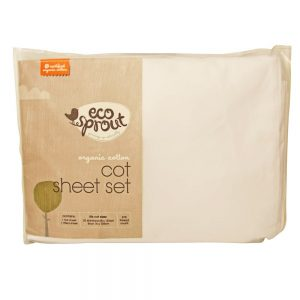 Cot Sheet Set - Eco Sprout
