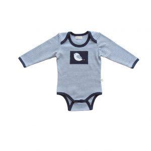 Striped Bodysuit Navy - Tiny Twig