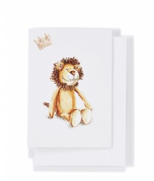 Hunter The Lion Card - Nana Hutchy