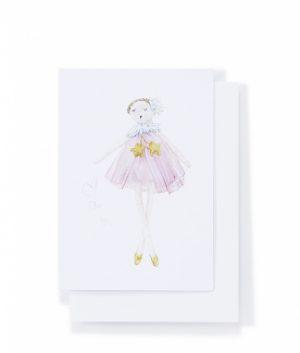 Star Dust Ballerina Card - Nana Hutchy