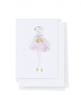 Star Dust Ballerina Card - Nana Hutchy