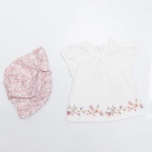 Floral Swing Top and Hat