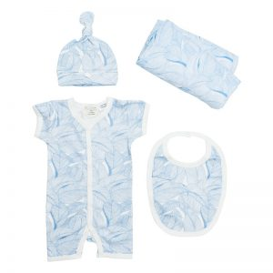 Blue Leaf Gift Set - Wilson & Frenchy