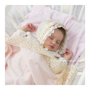 Classic Swaddle Pink 1 - Tilly & Otto