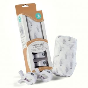 Bamboo Wrap and Peg Box Set Penguins