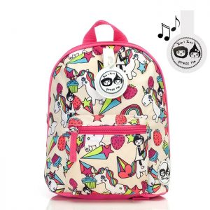 Zip & Zoe Mini Backpack in Unicorns - Babymel