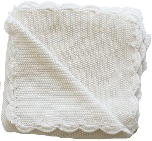 Moss Stitch Blanket - Alimrose