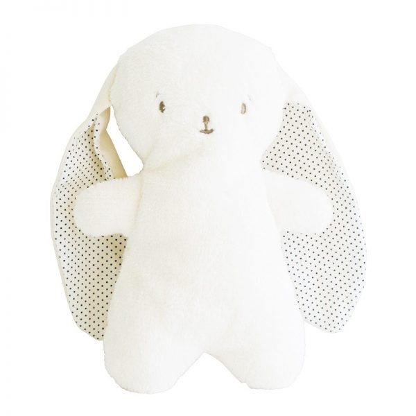 Spotted Eared Snuggle Bunny Navy Spot - Alimrose