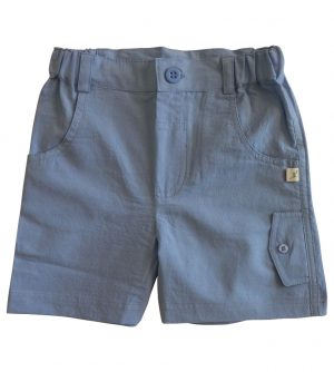 Little Boys Blue Shorts - Tiny Twig