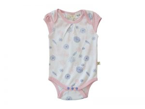 Little Girls Pink Bodysuit - Tiny Twig
