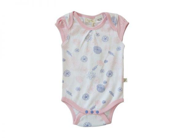 Little Girls Pink Bodysuit - Tiny Twig