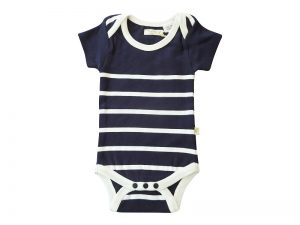 LittleBoys Stripe Pomper Navy - Tiny Twig