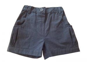 Navy Girls Shorts - Tiny Twig